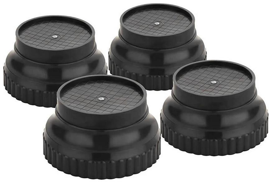 KIAT - HS efrigerator Multi-Purpose 4 Pcs Round Plastic Legs Foot and...