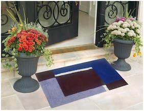 Kihome 100% Cotton Bath, Door, Floor Mat ( Pack of 1)
