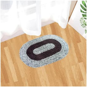 Kihome Cotton 1 Door Mat-Grey