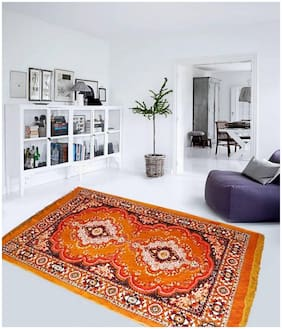 Kihome Printed Jute 1 Carpet