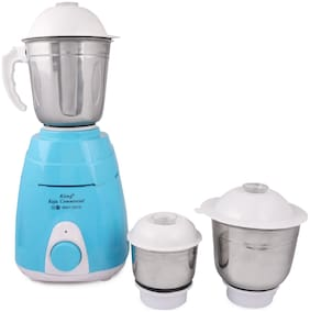 KIING MACEY 750 Mixer Grinder ( Blue , 3 Jars )