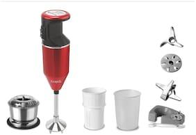 Kingstar BMW PLUS 200 Watts Hand blender ( Red )