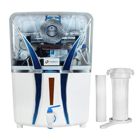 Kinsco Diamond 15L RO+UV+UF+TDS Adjuster Water Purifier