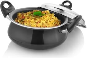 Kitchen Chef Mughlai Biryani Handi Cook and Serve Casserole With Lid