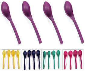 Kitchen Duniya Deep Curry Ladles, Set of 4