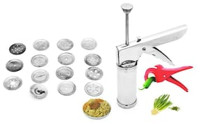Kitchen Press with hand vegetable Cutter
