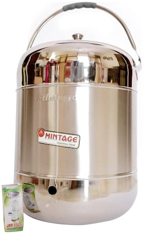 Mintage 24 l Stainless steel Water Container