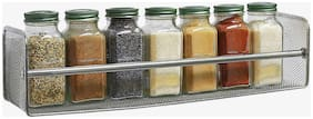 Kitchen Wall Hanging Shelf-Silver