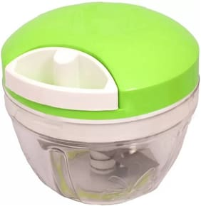 KITCHERO Quick Wonderful Chopper With Stainless Steel Blade;Quick Chopper Vegetable and Dry Fruit Cutter Green Vegetable Chopper (1 DORI CHOPPER)