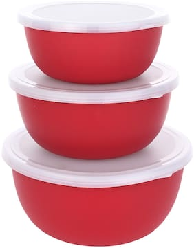 Kitensil Microwave Safe Serving Bowls (3 pcs)