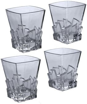 Kittens Square Shaped Bar Glassesclear