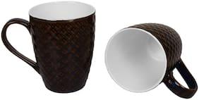 Kittens Large Checke Pattern Glossy Coffee Mugs