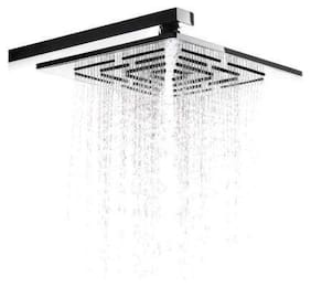 Kleff Luxorious Heavy Quality 304 Stainless Steel Rust Proof Without Shower Arm Rain Shower Head (6x6)
