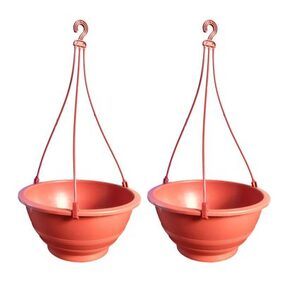 Kohinoor Plastic Rust Hanging ( Set Of 2 Pcs )