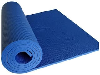 Kohinoor Fitness Anti-Slip Yoga mat for Gym Workout Blue 4 mm Yoga Mat Blue Color