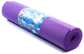 Kohinoor Fitness Anti-Slip Yoga mat for Gym Workout Blue 4 mm Yoga Mat Purple Color