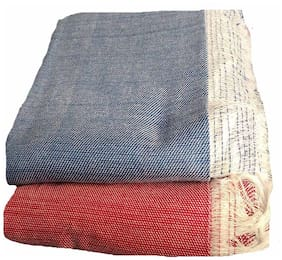Kohinoor Cotton Printed Single Size Bedsheet 250 TC ( 2 Bedsheet Without Pillow Covers , Multi )
