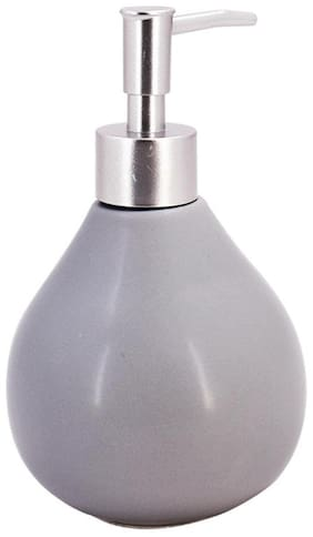Kookee Ceramic Liquid Soap Dispenser,Matte Finish