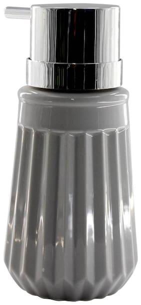 Kookee Ceramic Liquid Soap Dispenser, Light Grey (18197-D)