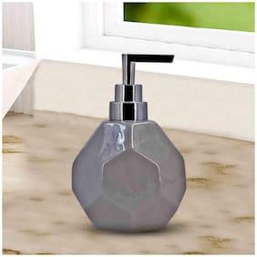 Kookee Ceramic Liquid Soap Dispenser, Hexagon (DW20312-LG)