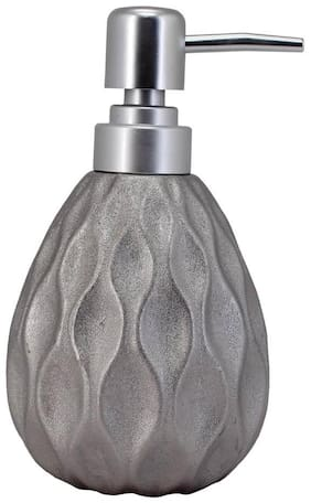 Kookee Ceramic Liquid Soap Dispenser,Silver