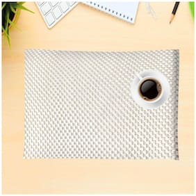 Kookee Dining Table Placemat 6 Pieces - White