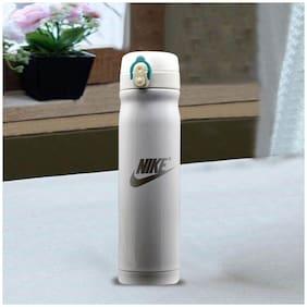 Kookee Stainless Steel Water Bottle Set of 1 ( Grey , 500 ml )