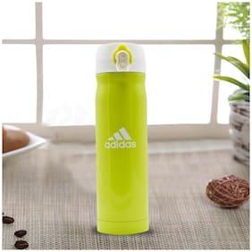 Kookee Stainless Steel Water Bottle Set of 1 ( Green , 500 ml )