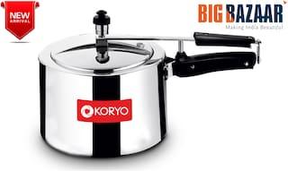 Koryo 3 L. Inner Lid Aluminium Pressure Cooker (KPCIN3LILC)