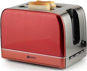 Koryo KPT2106RSS 2 Slices Pop-up Toaster ( Maroon )