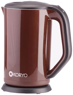 Koryo (KEK1875SDCFB)  Electric Kettle (Brown & Grey)