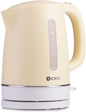 Koryo (KEK18YS) Electric Kettle (1.7 Ltrs,Yellow)