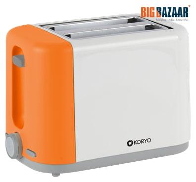 Koryo KPT1270BCO Pop Up Toaster (Orange)
