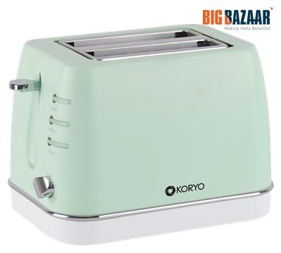 Koryo KPT1368BCG Pop Up Toaster (Green)