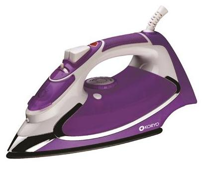 Koryo By Big Bazaar KSW26X 1600W Steam Iron Purple
