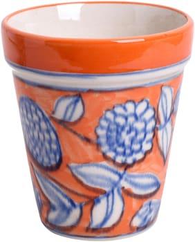 Kraftmania Ceramic Multicolor Coffee;Milk;Water Glass Set (Set of 4;280 ml)