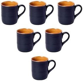 Kraftmania Ceramic Cups for Kitchen Serving T-Coffee Cup Set