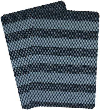 Krazy Decor Highly durable PVC Rubber Outdoor Door Mat for Outdoor Entrance Home Rainy Season