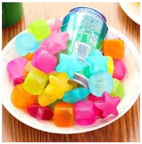 kudos 12 pc reusable ice cubes Square - Multicolor