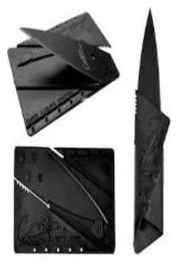 kudos Cardsharp Creditcard Folding knife