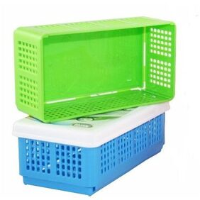 Kudos Flexi Fold Space Saving Multipurpose Box Storage Basket (pack of 2)