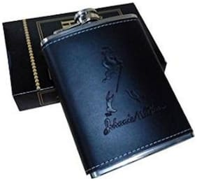 Kudos Leather Hip Flask 226.79 g (8 OZ)