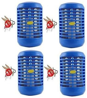 kudos night lamp cum Mosquito, Insect Killer Attracts Due to Light and Killed with the help of Electronic Direct Current(pack of 4)