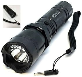 kudos Rechargeable LED Flashlight Powerfull Women Self Defence Torch light