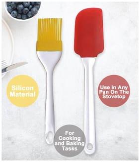 Kudos Silicone Spatula And Pastry Brush Set