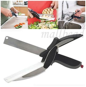 Kudos Smart Clever Cutter - 2 in 1 Kitchen Knife with Chopping Board