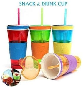 kudos Snackeez Shake Cup Drink & Snack Holder- 1 pcs.