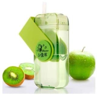 K Kudos Enterprise 430 ml Glass Assorted Water bottles - 1 pc