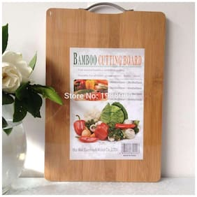 kudos Wooden Vegetable Chopping Board (pack of 1) 36X26
