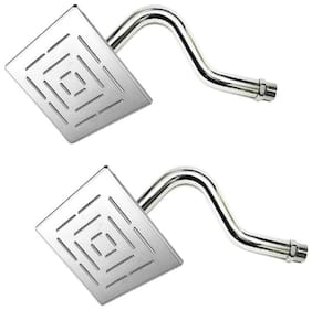 Kurvz 6x6 Maze shower with 30.48 cm (12 inch) S-Type Arm -Pack of 2